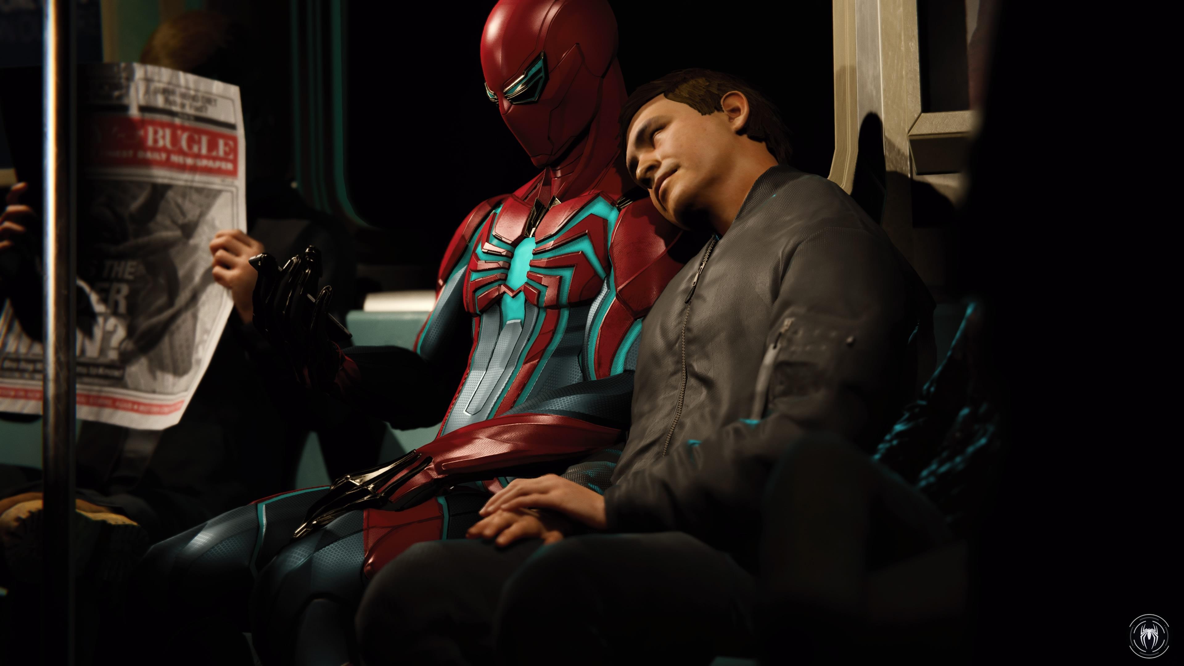 Marvel's Spider-Man - subway