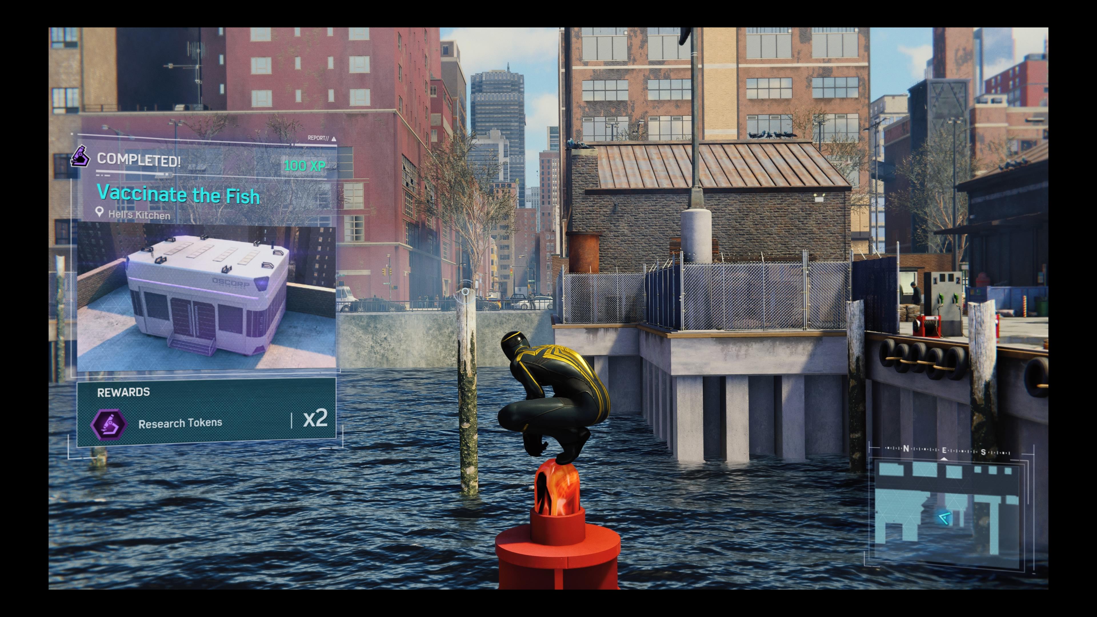 Marvel's Spider-Man - fishy