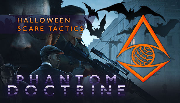 Phantom Doctrine - Halloween Scare Tactics DLC key art