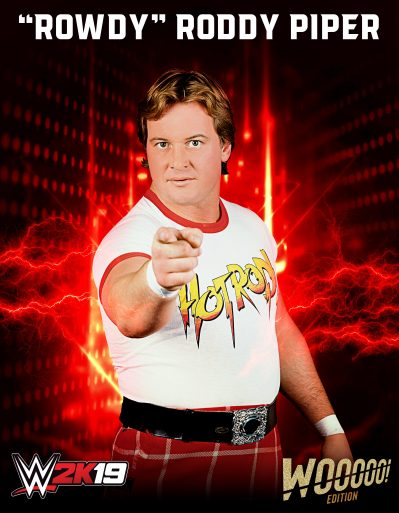 Wooooo Edition Roddy Piper
