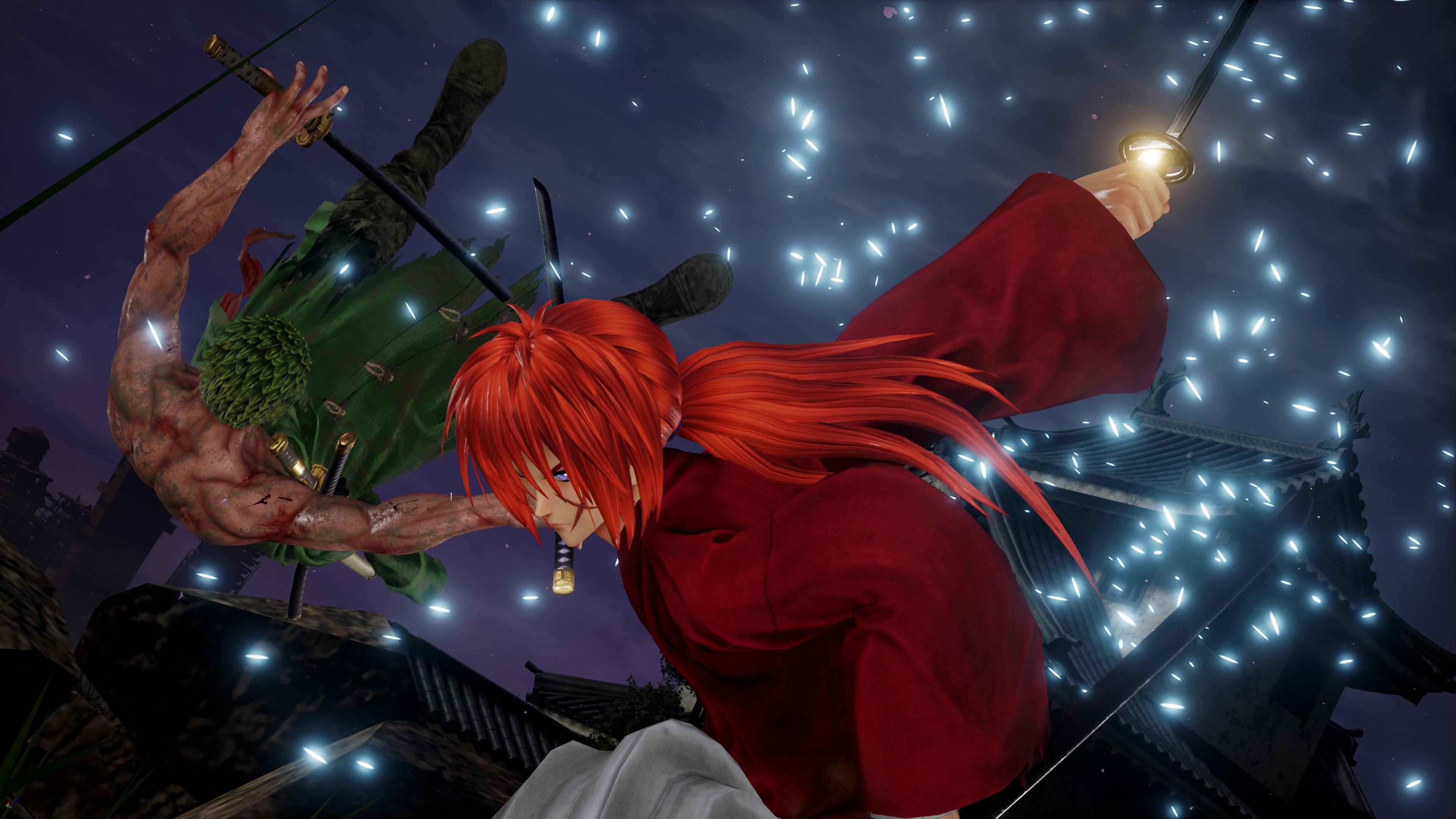 Jump Force - Kenshin vs Zoro