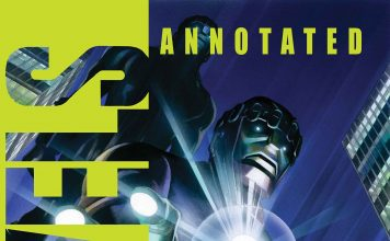 MARVELS Annotated Cover