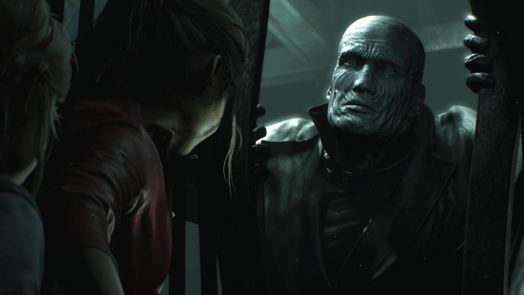 Resident Evil 2 - peekaboo