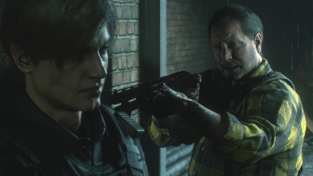 Resident Evil 2 - gunpoint