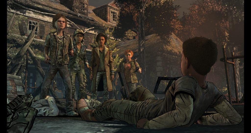 The Walking Dead: The Final Season - back up