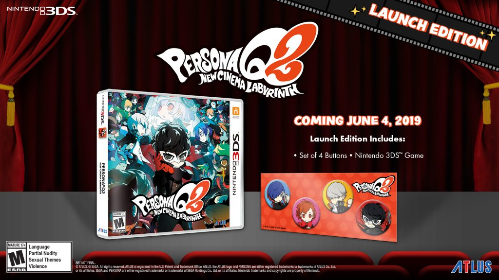 Persona Q2: New Cinema Labyrinth - Launch Edition