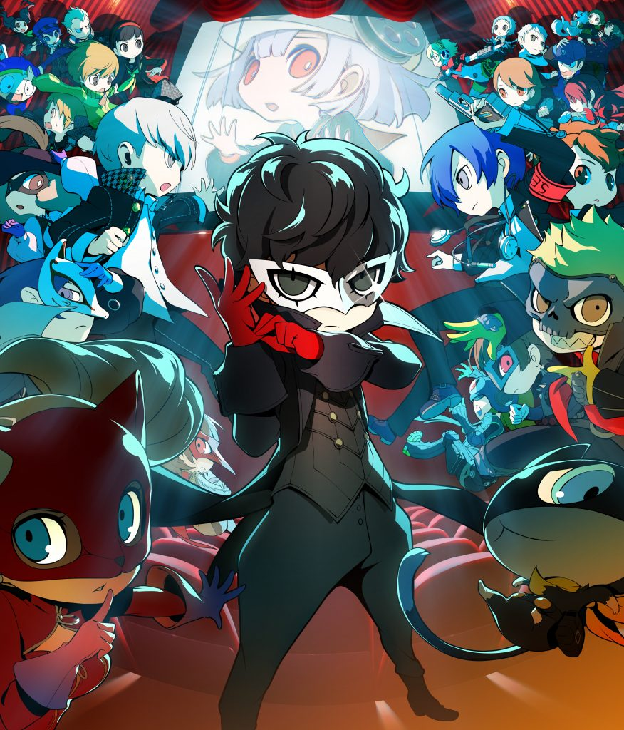 Persona Q2: New Cinema Labyrinth - key art