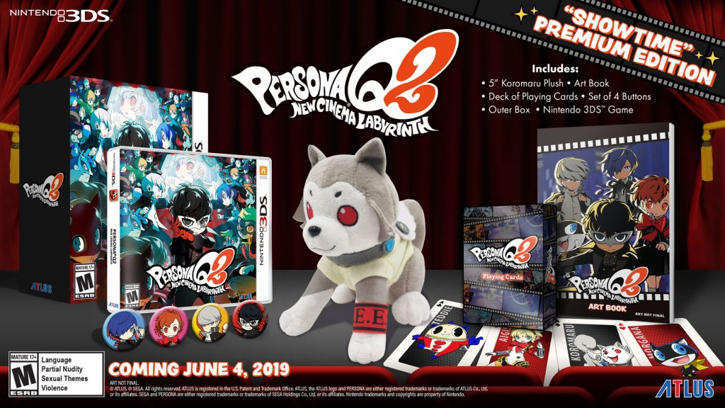 Persona Q2: New Cinema Labyrinth - Showtime edition