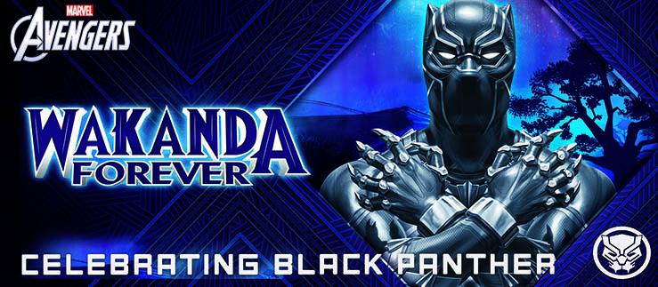Wakanda Forever Social Brick