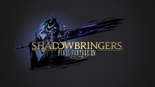 Final Fantasy XIV: Shadowbringers - logo