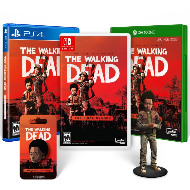 The Walking Dead: The Final Season - collector's Pack