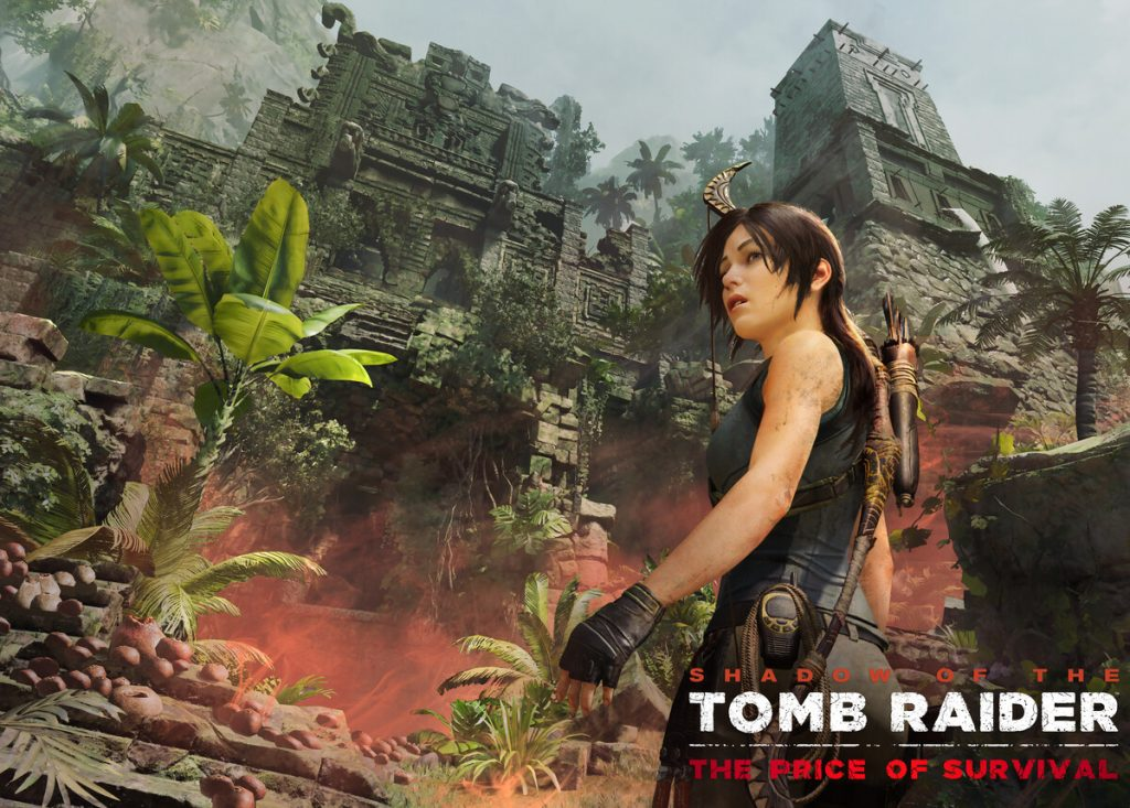 Shadow of the Tomb Raider - Survival key art