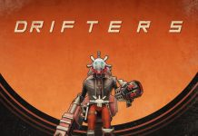 Drifters - art with logo