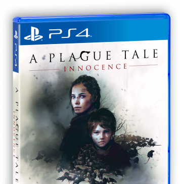 A Plague Tale: Innocence - PS4 box art