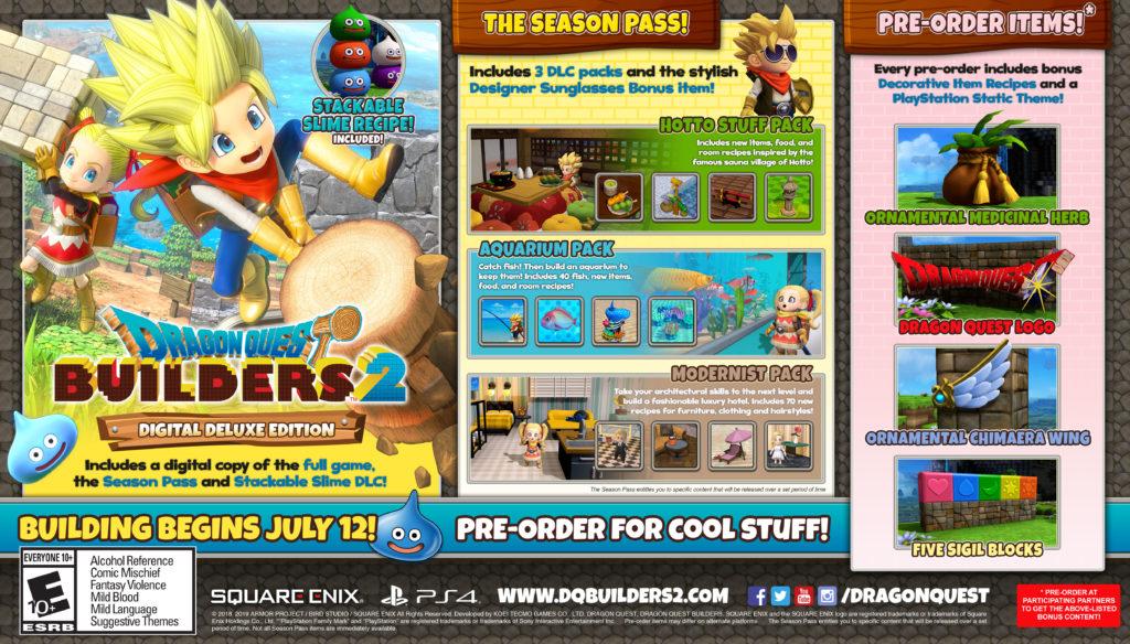 Dragon Quest Builders 2 - DDE