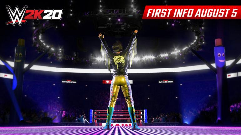 WWE 2K20 Bayley Screenshot 1920x1080