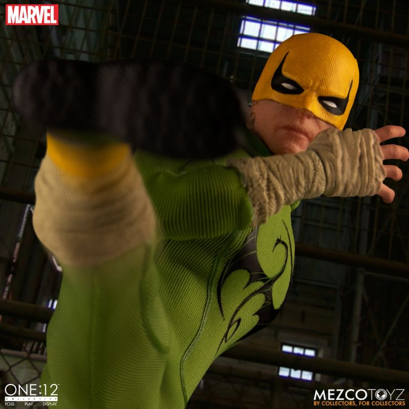 Mezco One12 Iron Fist 8