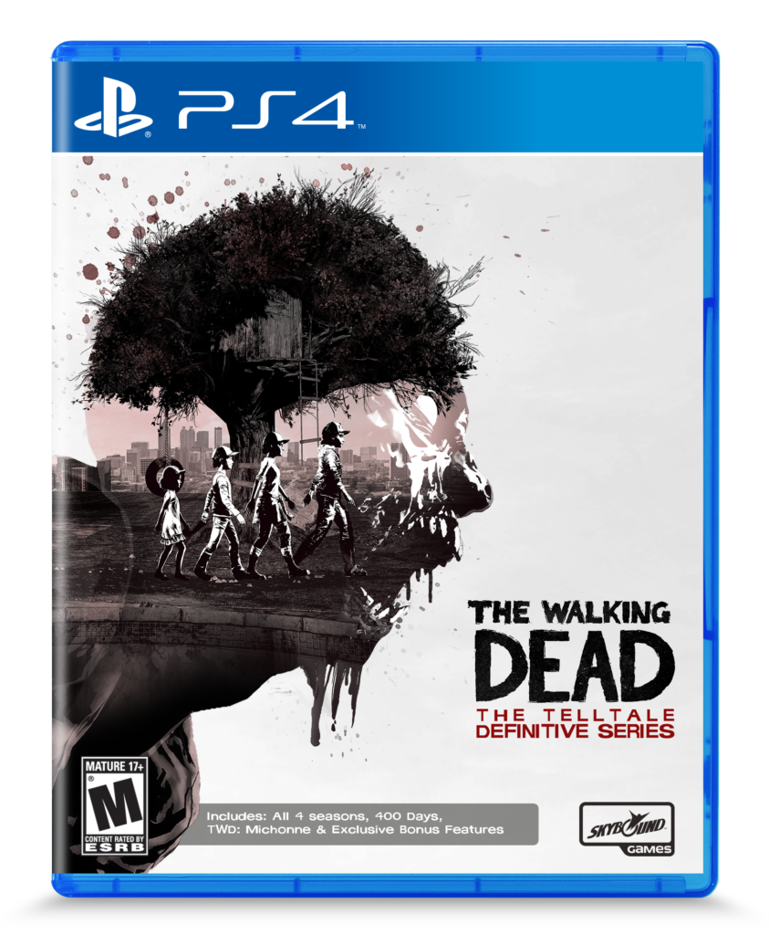 TWD DefinitiveSeries PS4BoxArt