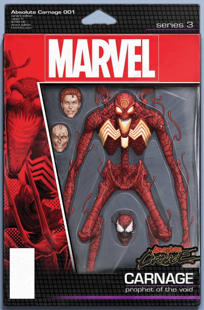 Absolute Carnage 1 Christopher Variant