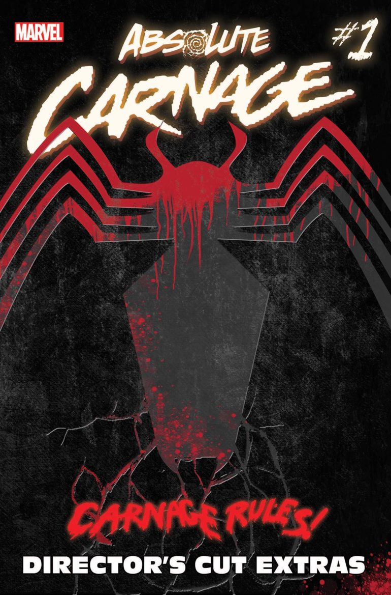 Absolute Carnage 1 Directors Cut Cover