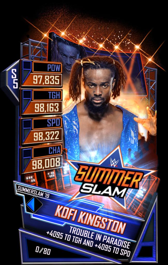 WWESC S5 Kofi Kingston SS19