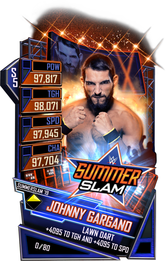 WWESC S5 Johnny Gargano SS19