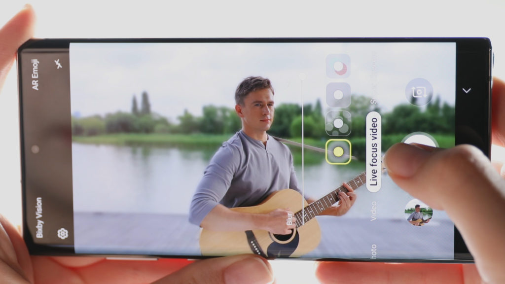 009 galaxy note10 live focus video