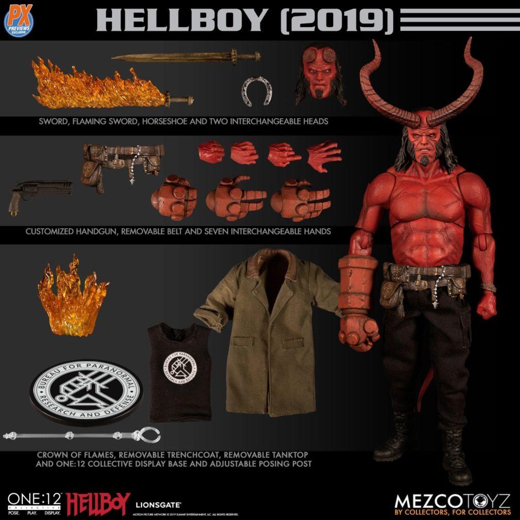 Mezco One12 Hellboy 2019 9