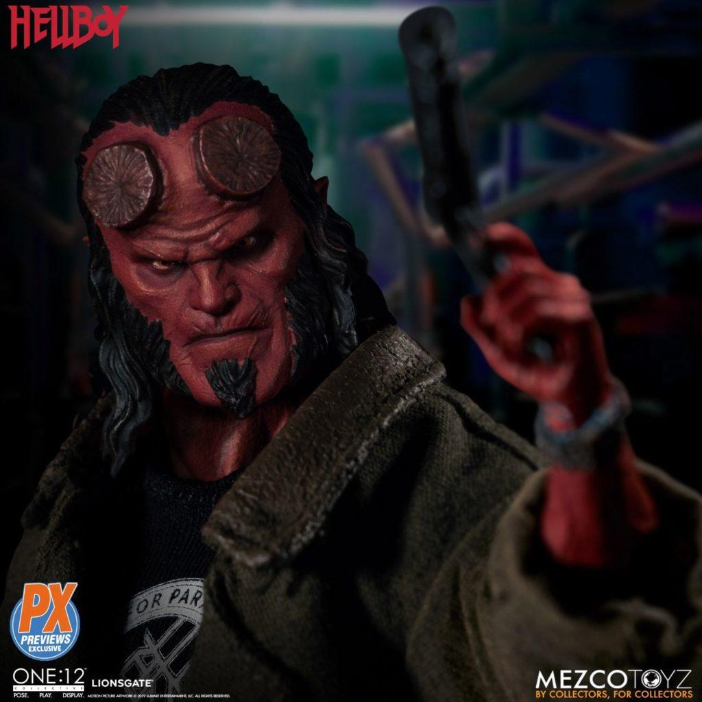Mezco One12 Hellboy 2019 3