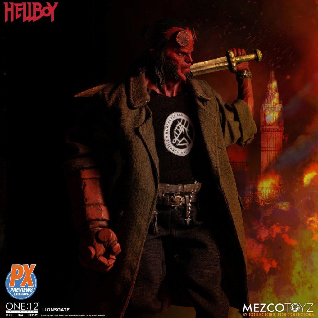 Mezco One12 Hellboy 2019 5