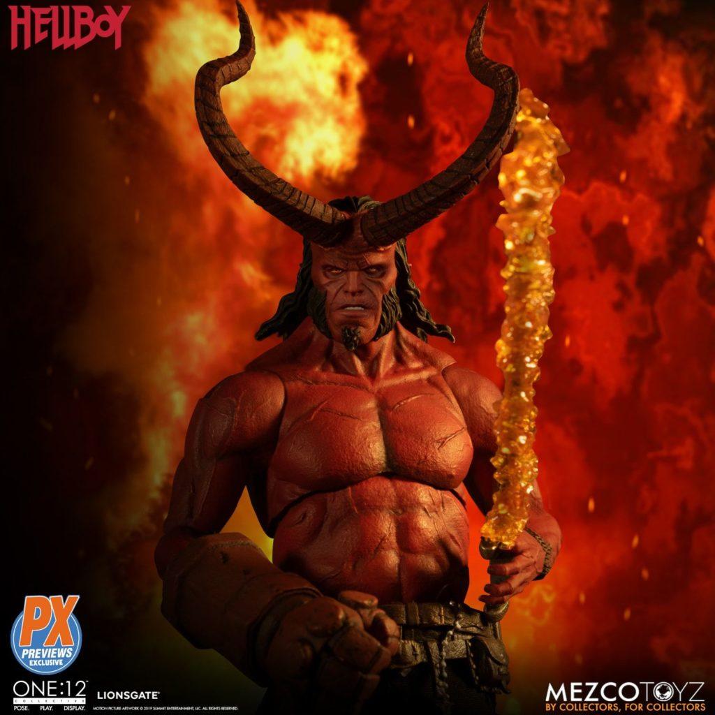 Mezco One12 Hellboy 2019 6