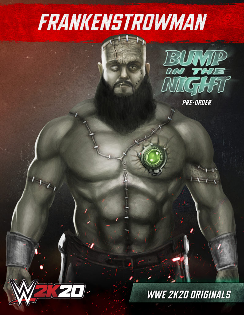 WWE2K20 Originals Bump in the Night Braun Strowman