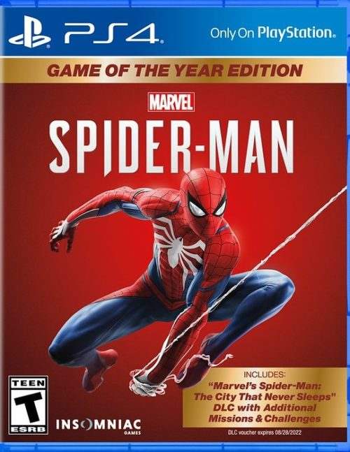 SpiderManGOTYEdition PS4 Copy