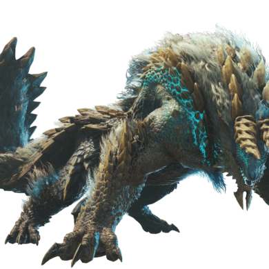 Monster Hunter World: Iceborne - Zingore