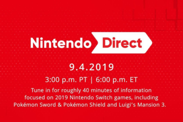 Nintendo Direct 9419