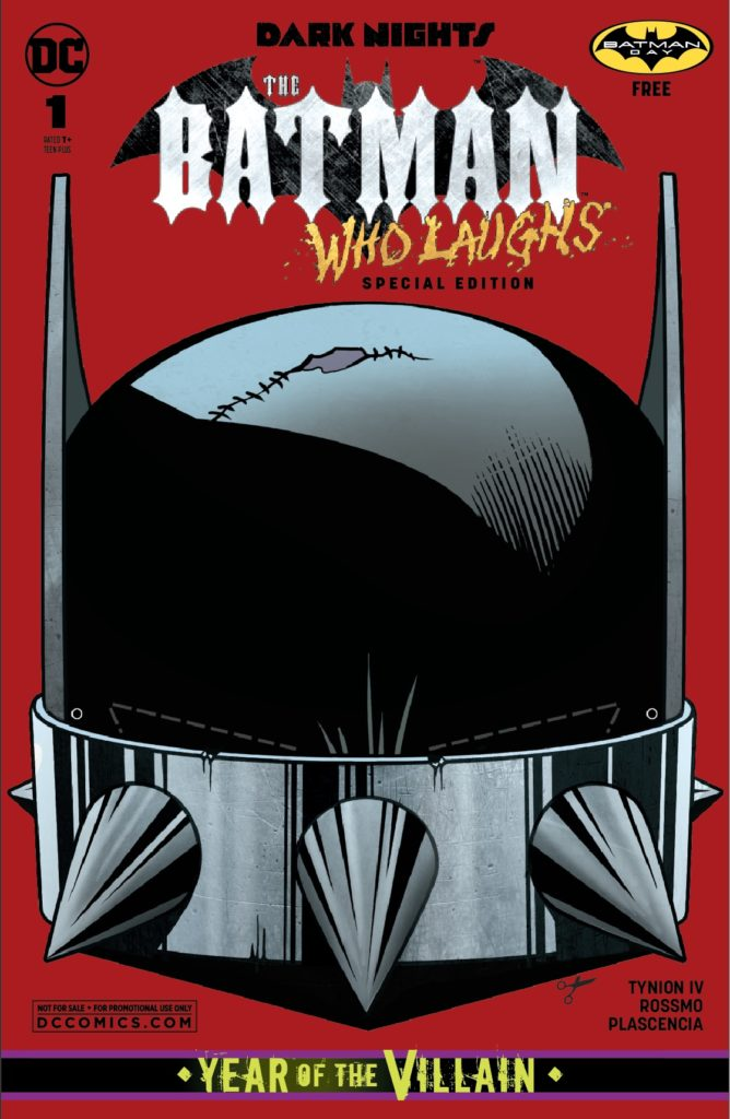 BWL Batman Day Cover crop