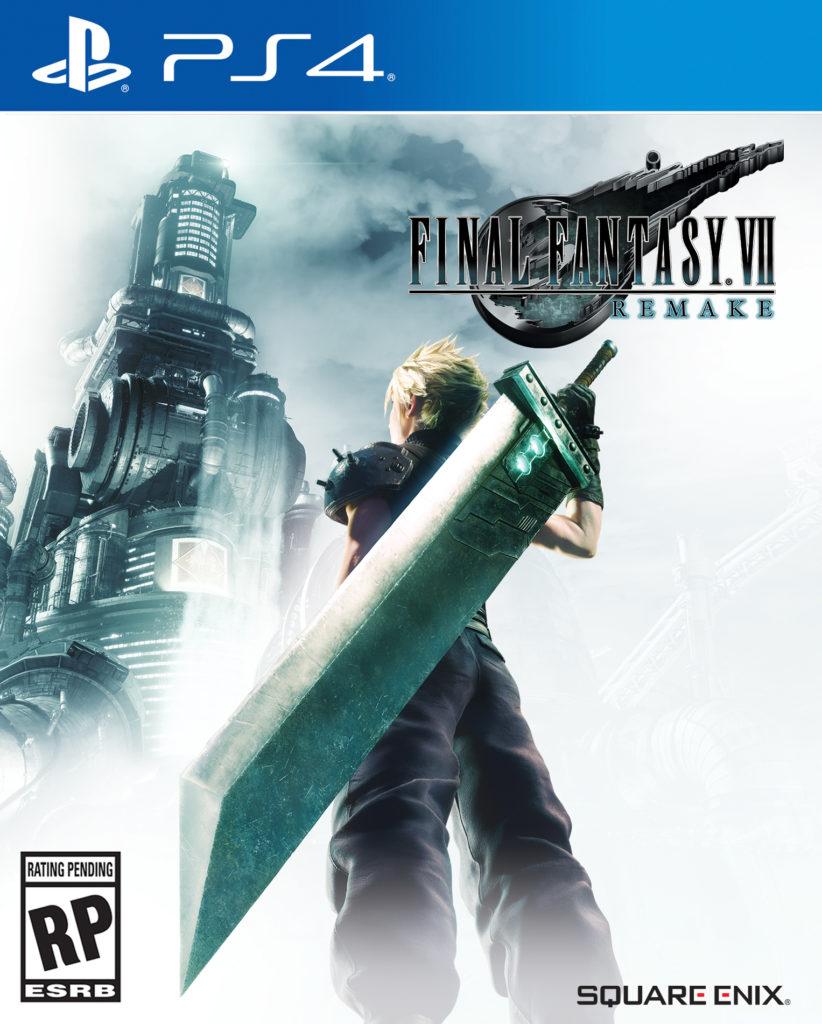 Final Fantasy VII Remake - cover art