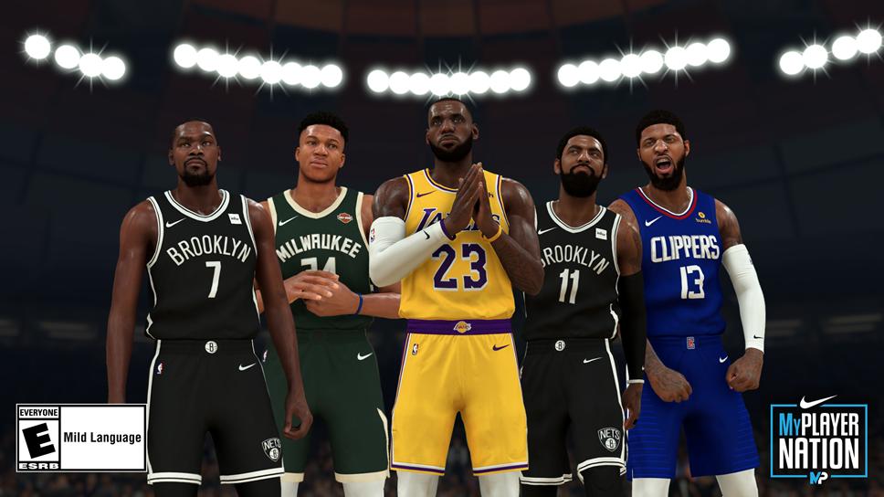 NBA 2K20 Nike Collab