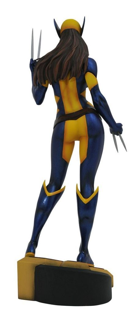 0004949 marvel gallery x 23 as wolverine pvc diorama