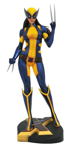 0004947 marvel gallery x 23 as wolverine pvc diorama small