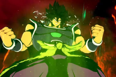 Dragon ball FighterZ - Broly DBS