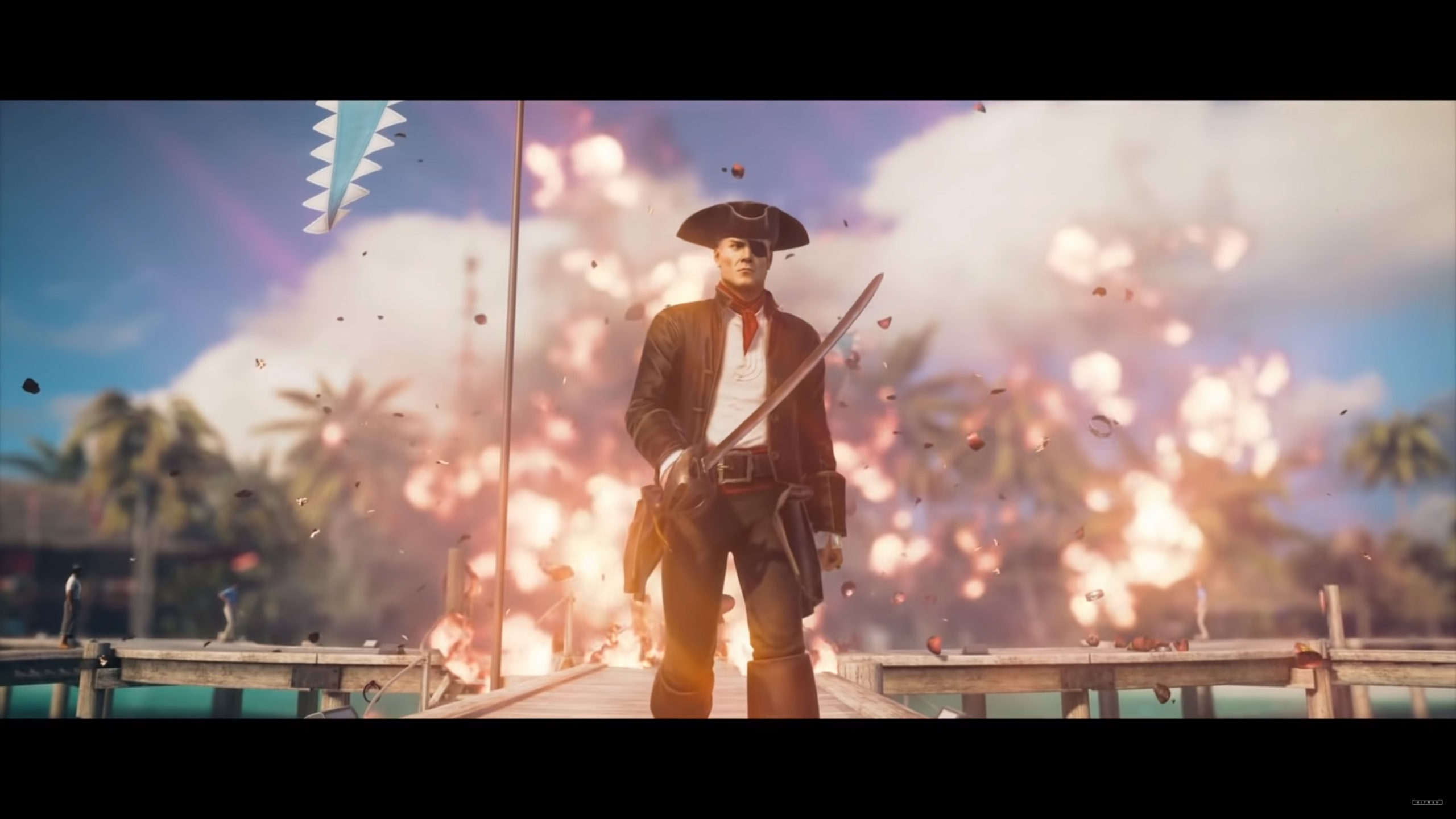 HITMAN 2 - Buccaneer disguise
