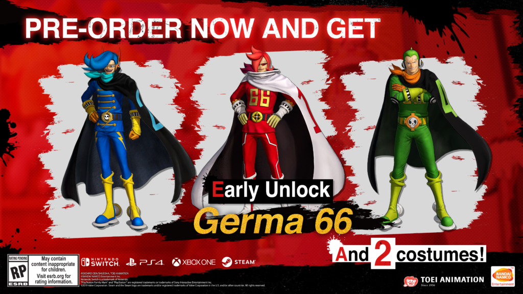One Piece Pirate Warriors 4 - Germa 66