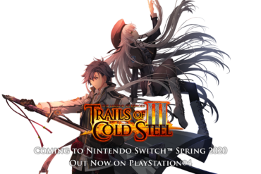 Trails of Cold Steel III - splash art