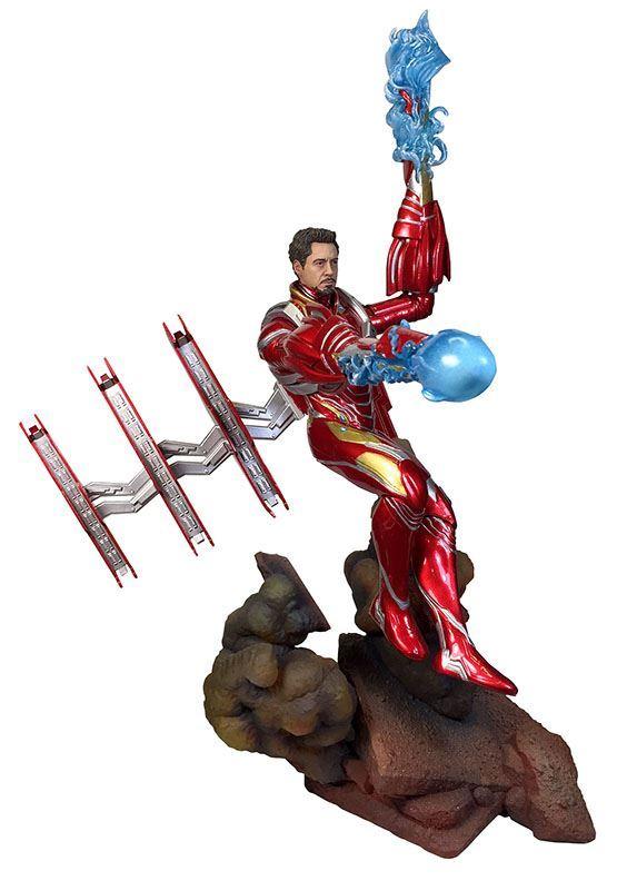 Iron Man MK50 Diamond Select 1