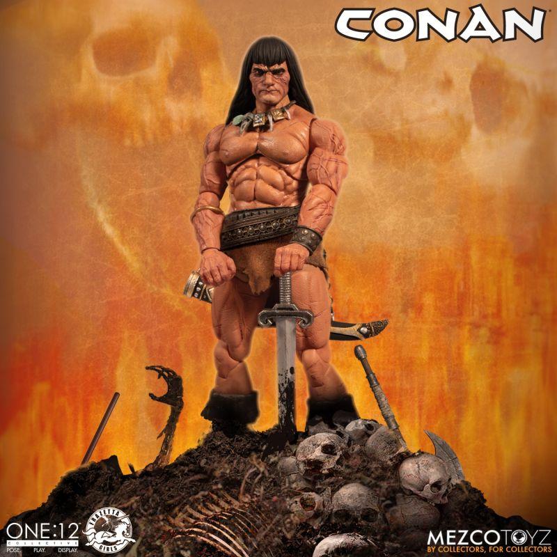 Mezco One12Conan