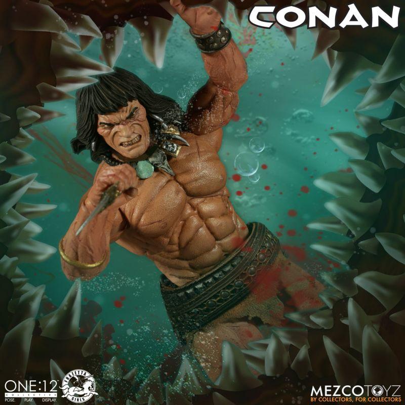 Mezco One12Conan 4