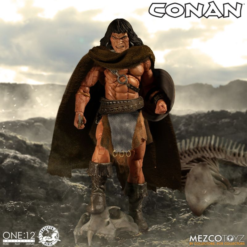 Mezco One12Conan 7