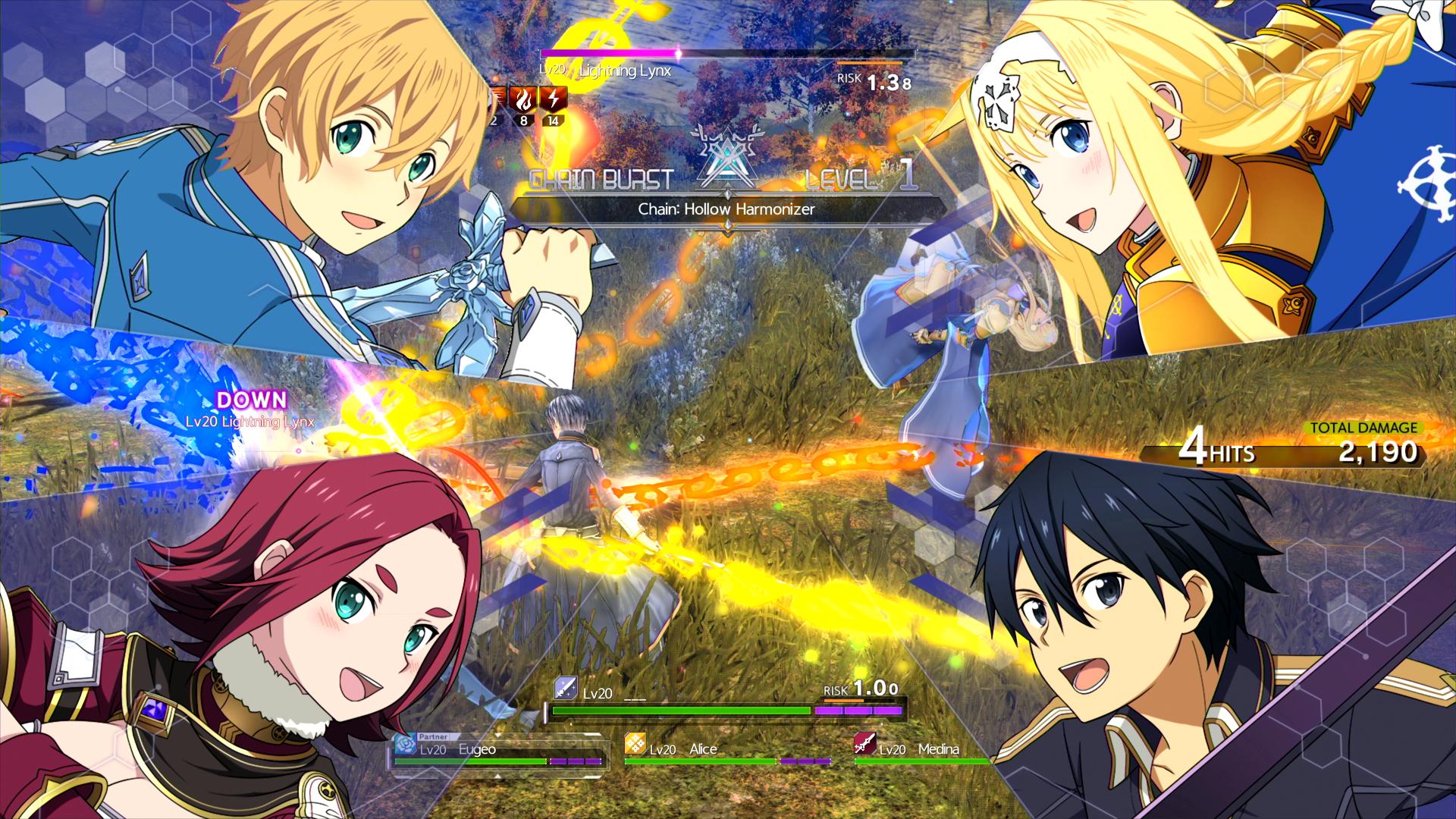 Sword Art Online: Alicization Lycoris - multiplayer