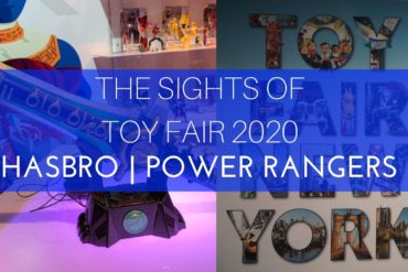 The Sights of Toy fair 2020 MMPR
